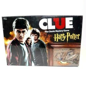 CLUE Harry Potter The Classic Mystery Board Game
