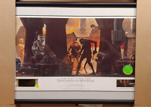 STAR WARS WILLITTS RALPH MCQUARRIE SIGNED LITHOGRAPH THE CANTINA ON MOS EISLEY