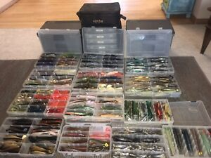 HUGE LOT OF DEEP SEA PLASTICS LURES LEADS HEADS AND TONS OF MISC.