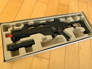 *BUNDLE DEAL* Heckler and Koch G36C Airsoft Electric Rifle by KWA