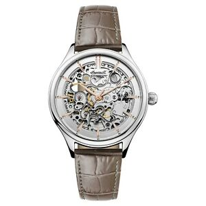 Ingersoll Ladies Vickers Automatic Skeleton Watch I06302 NEW $115.00