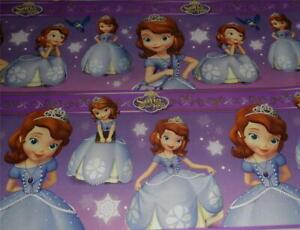 WRAPPING PAPER DISNEY SOFIA THE FIRST 3.33FTx 6FT CHRISTMAS WRAP GIFT PRINCESS