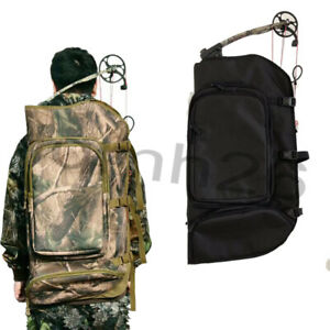 Camouflage Bow Case Hunting Outdoor Archery Compound Bow Bag Shoulder Backpack