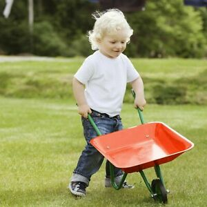 Kids Mini Toys Wheelbarrow Pretend Play Yard Work Gardening For Children