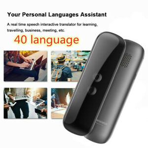 G5 Portable Mini Bluetooth 4.2 Smart Translator 40 Languages Two-Way Real Time