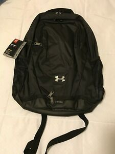 NWT Mens Under Armour Storm Team Hustle Water Repellent Backpack Black $55