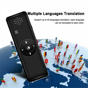 T11Portable Mini Bluetooth 4.2 Smart Translator 40 Languages Two-Way Real Time