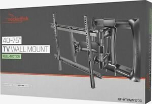New Rocketfish Full-Motion TV Wall Mount for Most 40