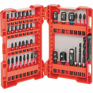Milwaukee Shockwave Impact Duty Drill and Drive Set 40 Pc Model# 48 32 4006