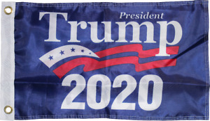 PRESIDENT DONALD J. TRUMP 2020 OFFICIAL FLAG DOUBLE SIDED QUALITY 150D NYLON