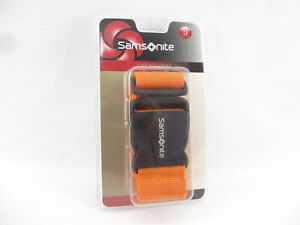 Samsonite Luggage Strap Belt for Travel Bag Juicy Orange New Sealed $11.99