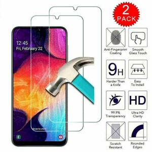 For Samsung Galaxy A10e A20 A30 A50 A70 A80 Tempered Glass HD Screen Protector