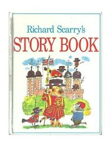 Richard Scarry's Story Book by Scarry, Richard Hardback Book The Fast Free