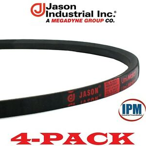 4 PACK A71 V Belt JASON A71 4L730 UniMatch Multi Plus 1 2 Wide, 73 Long NEW