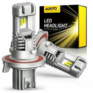 AUXITO H13 9008 LED Headlight Bulbs 9000LM Xenon White for Ford F 150 2004 2014