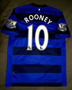 Manchester United AON Nike Authentic Dri Fit #10 Rooney Barclays Premier League