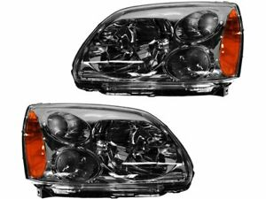 For 2004 2012 Mitsubishi Galant Headlight Assembly Set 64682DY 2011 2010 2005