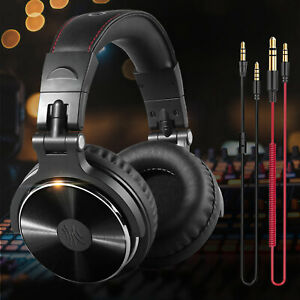 OneOdio Adapter free Closed Back Over Ear Wired Headphone Studio Pro 10 Black $31.98