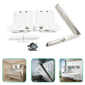 Wall Bed Mechanical Hardware  for Double or Queen Size Beds Iron Stainless Steel