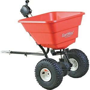 EarthWay Broadcast Tow-Behind Spreader-80-lb Cap #2050TP