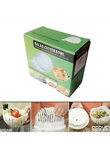 Salad Cutter Bowl- Make Your Salad In 60 Seconds
