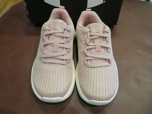 NWT Toddler Girls Under Armour Pink GPS Ripple Tennis Shoes Size 13K $32.95