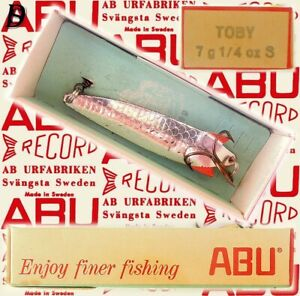 Vintage ABU Svängsta Record Spoon Toby 7gr S New in Box available 1956-69