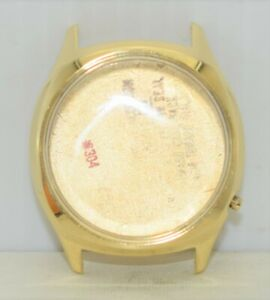 14K GOLD Bulova Accutron Case #2662 *304 M7 1967 for Cal 218 14 KARAT 16.4 Grams