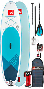 2019 Red Paddle Co Ride 10'6 Inflatable Stand Up Paddle Board + Bag Pump Paddle