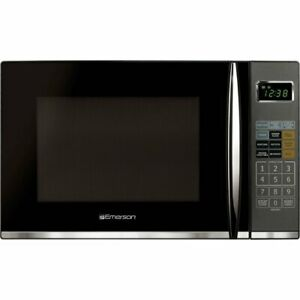 1.2 cu. ft. 1100 Watt Countertop Microwave Oven with Grill in Stainless Steel