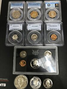 MIXED OLD US COINS SILVER UNCIRCULATED VINTAGE COIN COLLECTION $110.00
