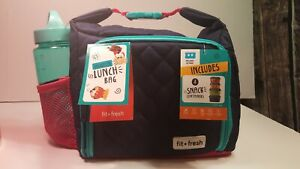 Fit Fresh Insulated Lunch Bag Kit 9