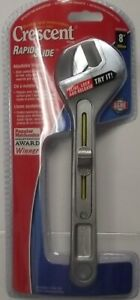 Crescent AC8NKWMP 8quot; Rapid Slide Adjustable Wrench
