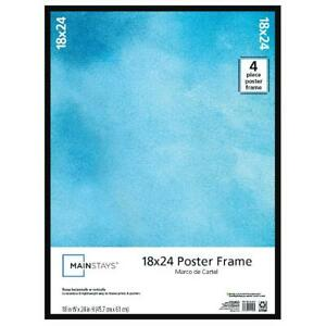 Mainstays 18 X 24 Trendsetter Poster Photo Picture Document Frame Home Decor