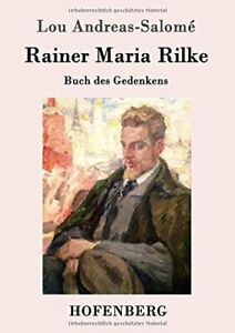 Rainer Maria Rilke by Andreas Salome New 9783861990260 Fast Free Shipping