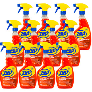 Zep Heavy Duty Citrus Cleaner 24 Oz ZUCIT24CA Case of 12 Enviro Friendly