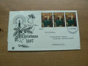 1967 Pre Decimal First Day Cover: Christmas