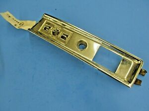 1973 BUICK POWER SEAT SWITCH AND BEZEL $59.95