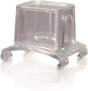 Microplane 45057 Gourmet Series Slider Attachment Grater, 18/8, Clear