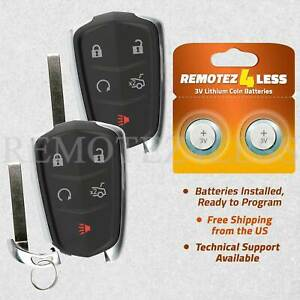2 For HYQ2AB ATS CTS Cadillac Remote Fob Entry $39.95