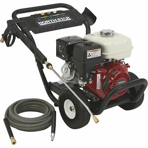 NorthStar Gas Cold Water Pressure Washer - 3600 PSI 3.0 GPM Honda Engine