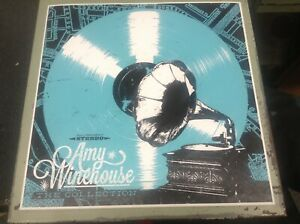 AMY WINEHOUSE 12quot; X 12quot; ART PRINT LITHOGRAPH from The Collection LP Box Set NM $4.99