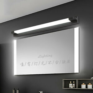 Modern Bathroom Vanity LED Light Mirror Front Toilet Wall Mount Lamp Fixture