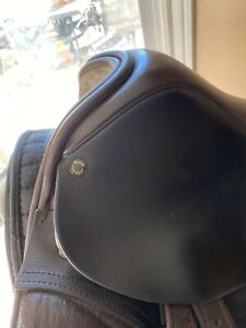 Black Country DressageSaddle Brown Very Good Condition maintained by N2 saddlery