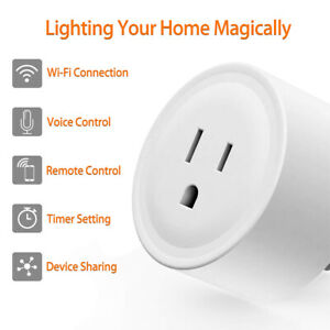 Wifi Smart Plug Remote Control Outlet Socket Timing Works with Alexa