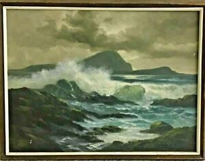 Guillermo Nunez framed painting $1000.00