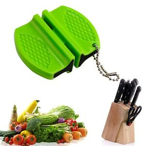 Creative Mini Pocket Knife Sharpener Non-Slip Ceramic Rod Tungsten Steel Camp