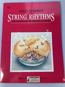 String Rhythms Classroom Or Individual Study Cello WS9CO Music lesson book