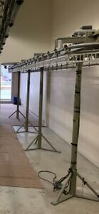 White Dry Cleaning Conveyor System $4000.00
