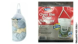 (2) Bajer Design Over-the-Door Hanging Hampers - New & Open/Damaged Box